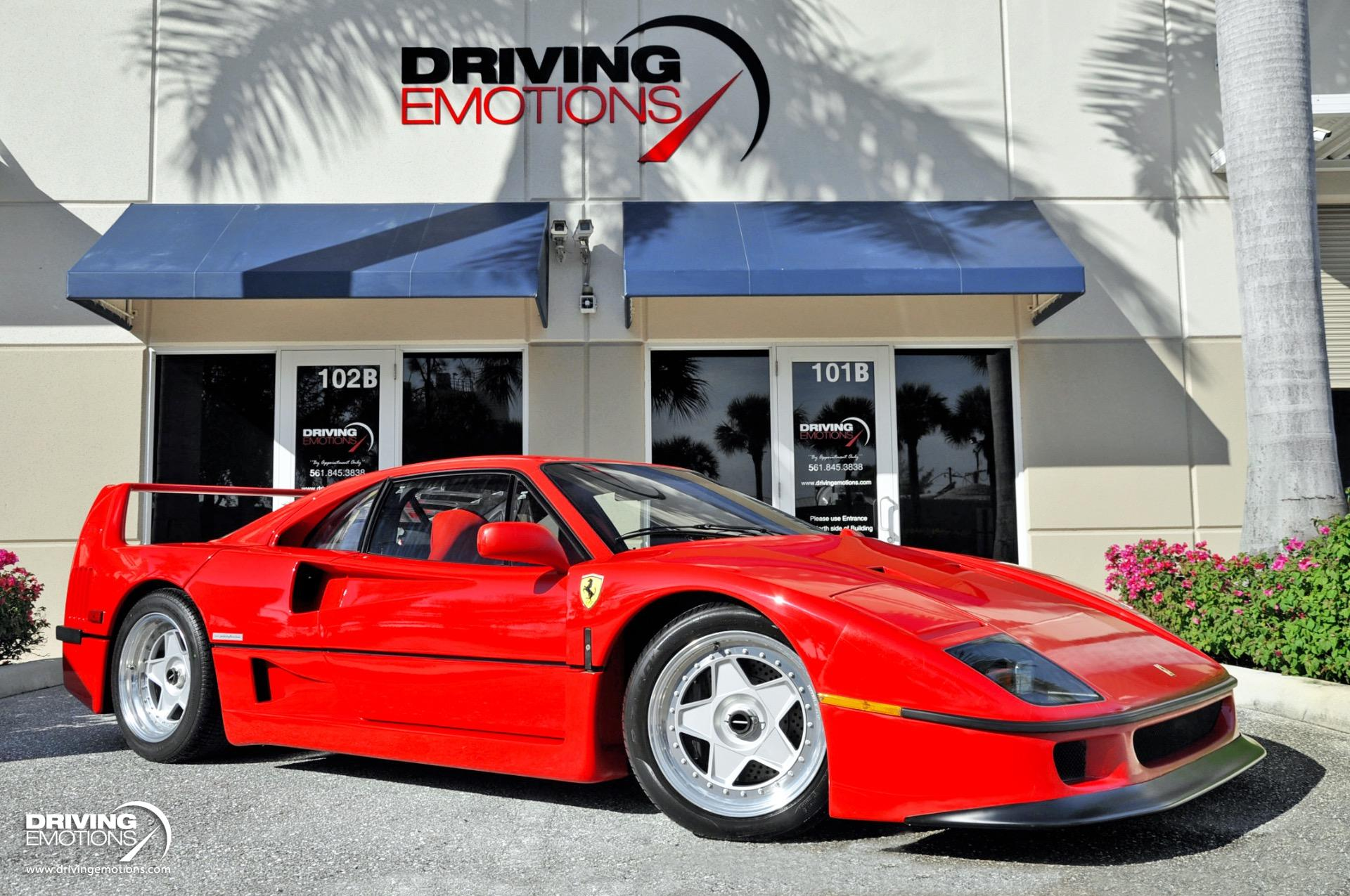 This Beautiful Ferrari F40 Is For Sale And Has Only 193 Miles On The Odometer News Supercars Net