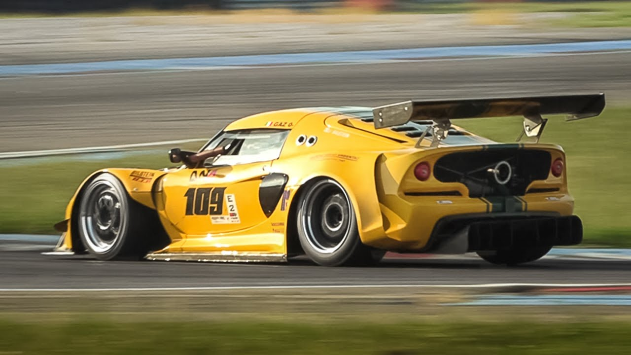 Team Santilli 2012 Lotus Exige S V6 time atack