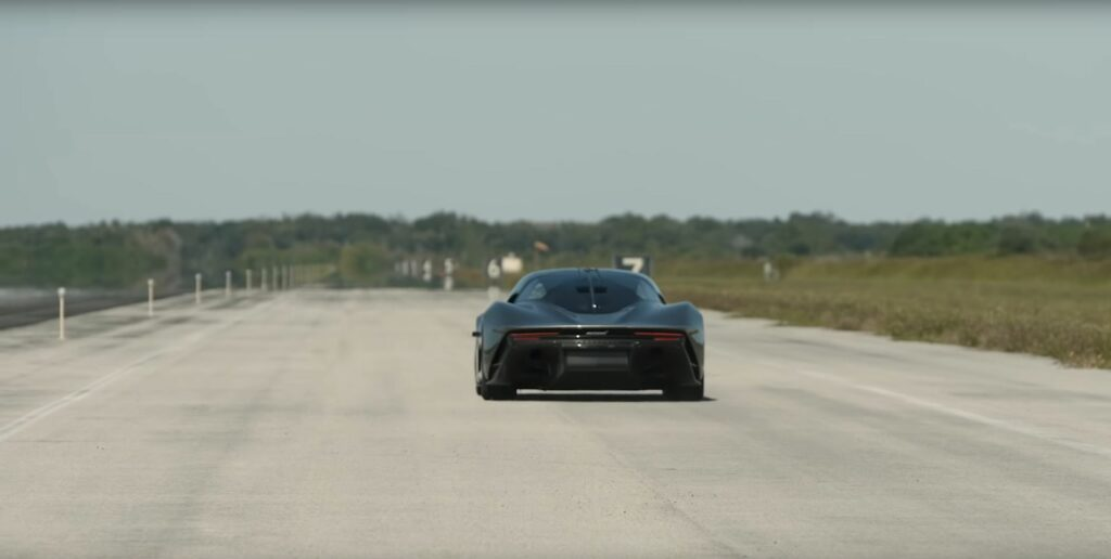 McLaren Speedtail prototype XP2