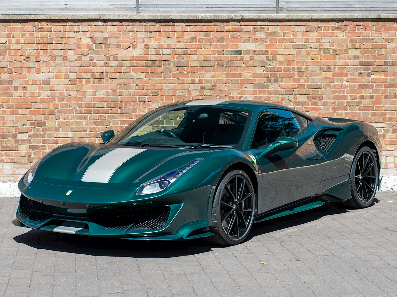 This Dark Green Ferrari 488 Pista Can Be Yours News Supercars Net