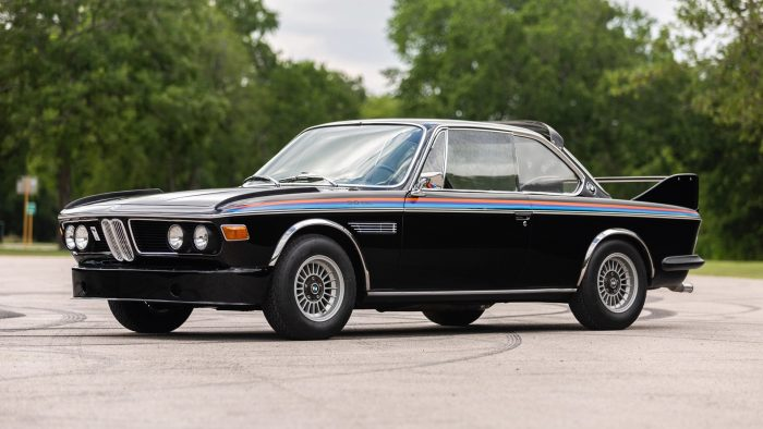 1072 BMW 3.0 CSL restomod 3.5 L