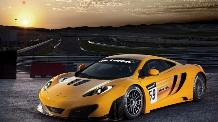 McLaren MP4-12C GT3 Wallpapers