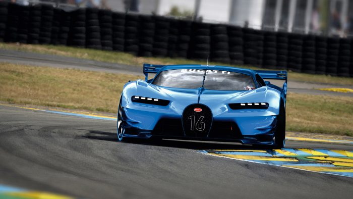 Bugatti Vision Gran Turismo Wallpapers