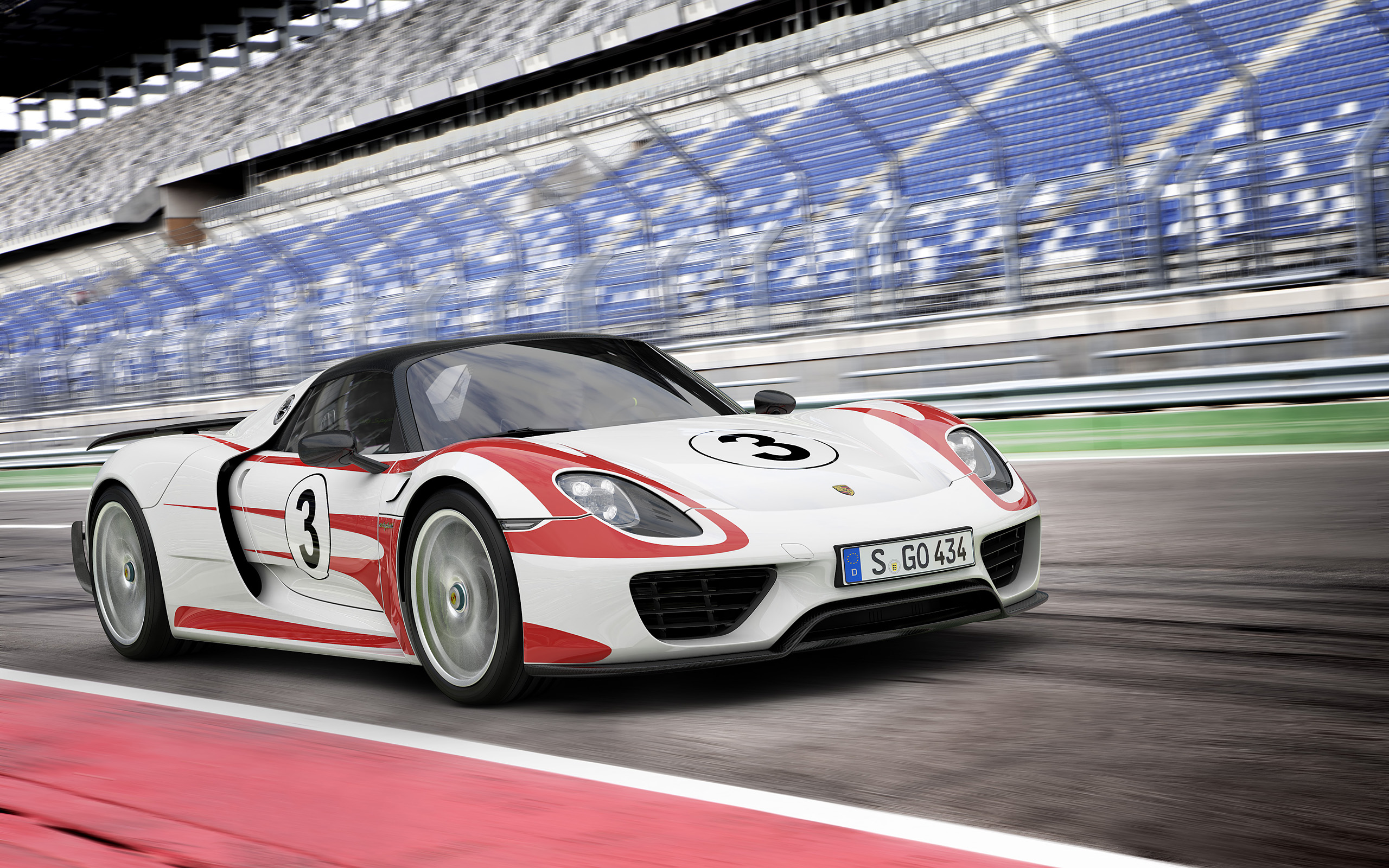 Porsche 918 Spyder Wallpapers