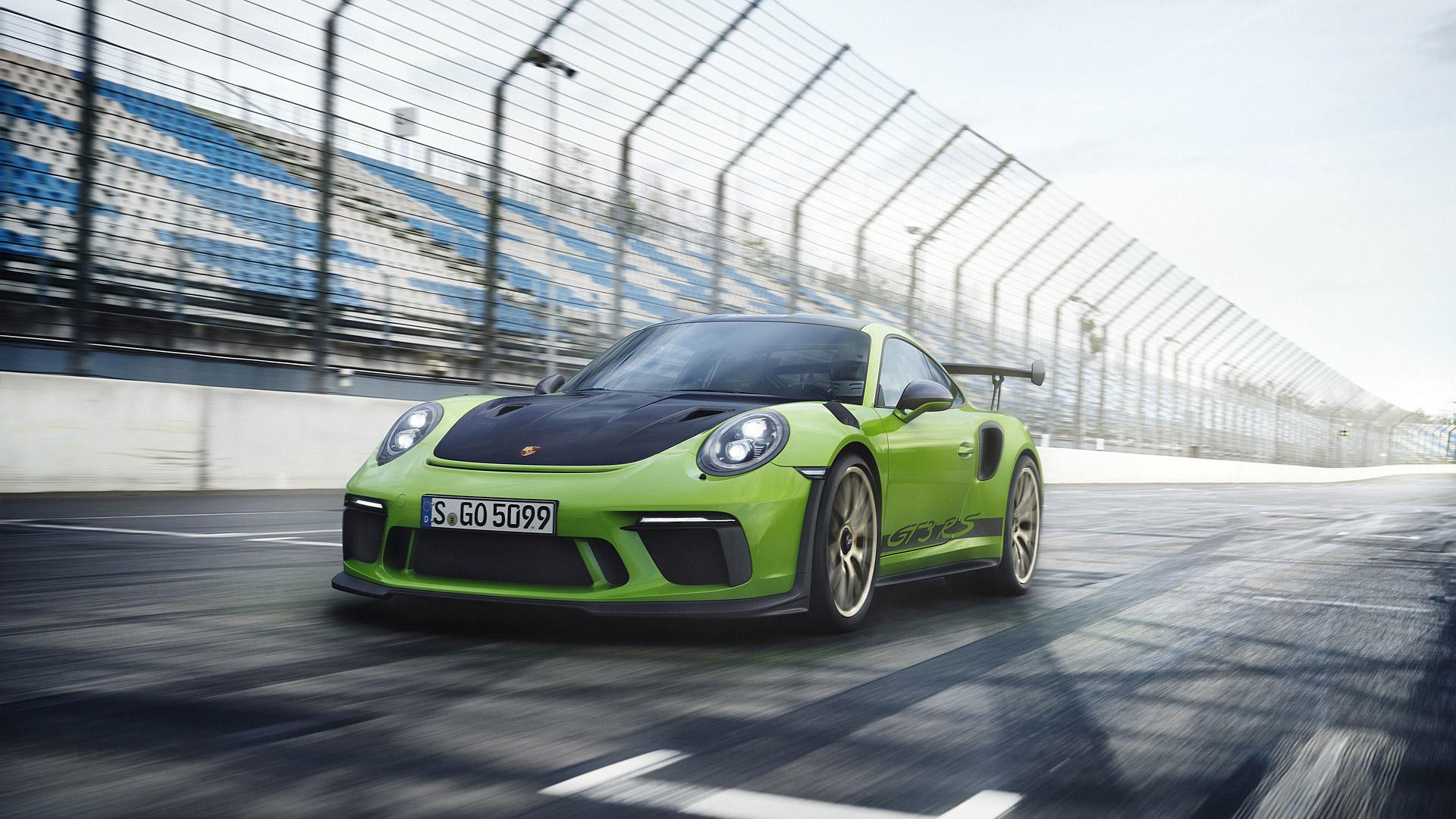 2018 Porsche 911 Gt3 Rs Wallpapers Supercars Net