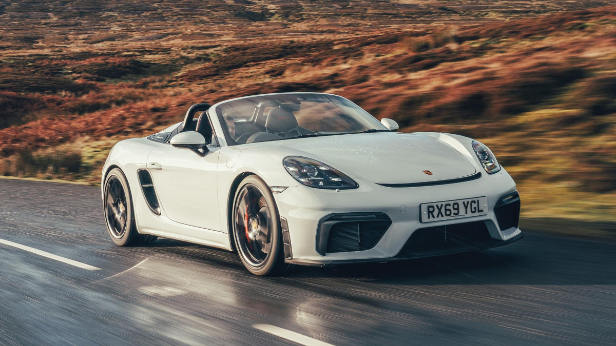 2019 Porsche 718 Spyder Wallpapers