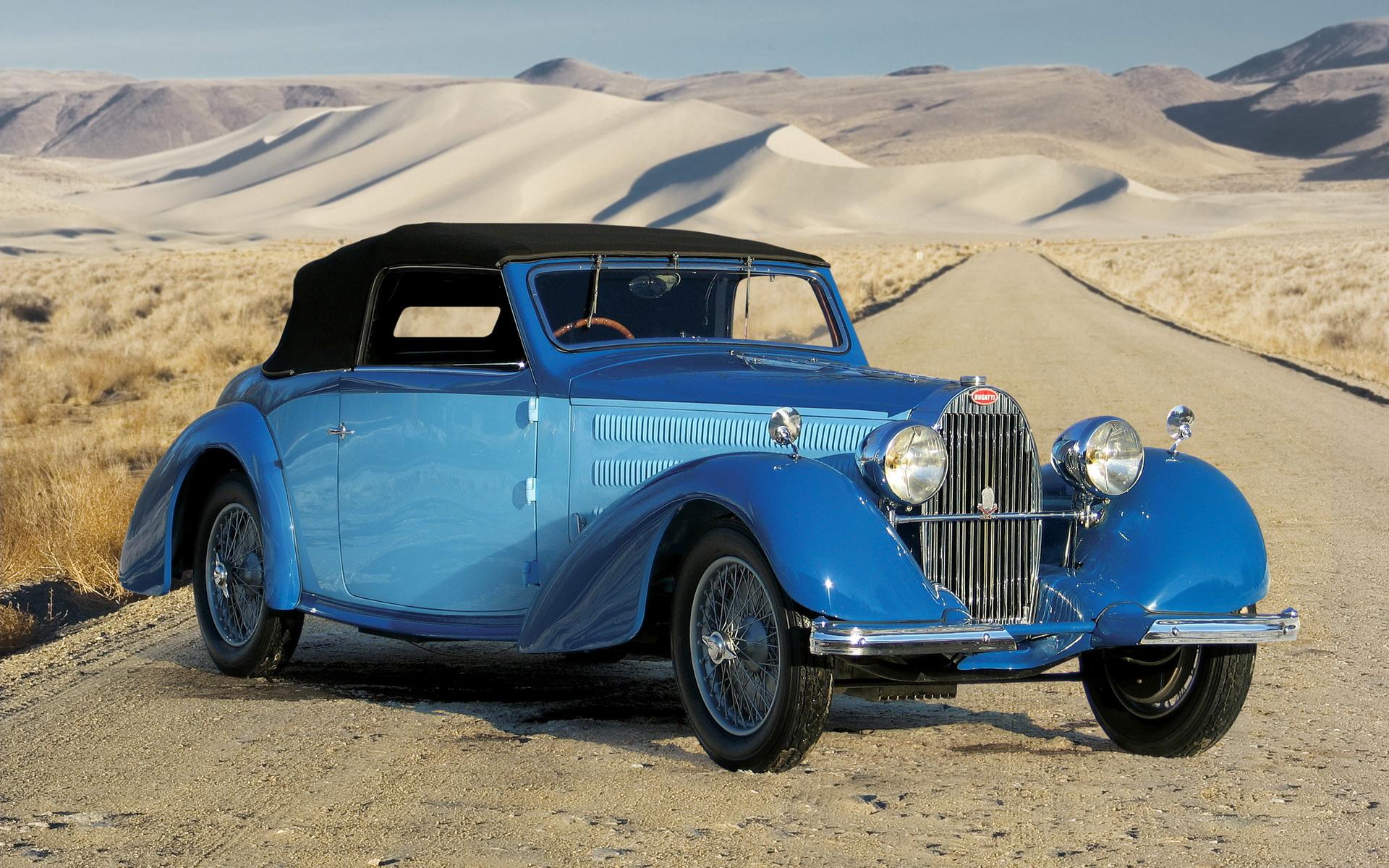 Classic Bugatti Wallpapers