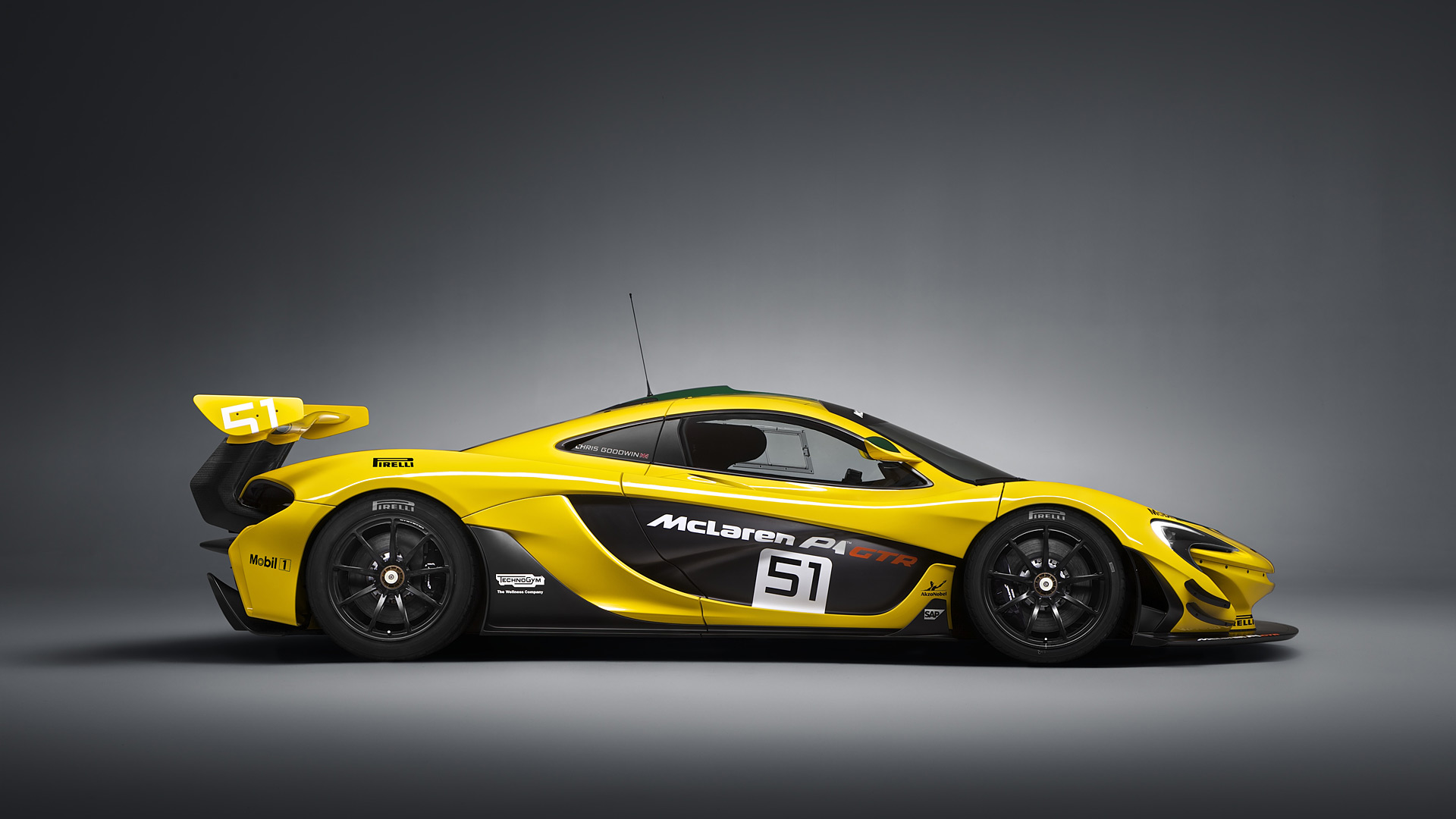 McLaren P1 GTR Wallpapers