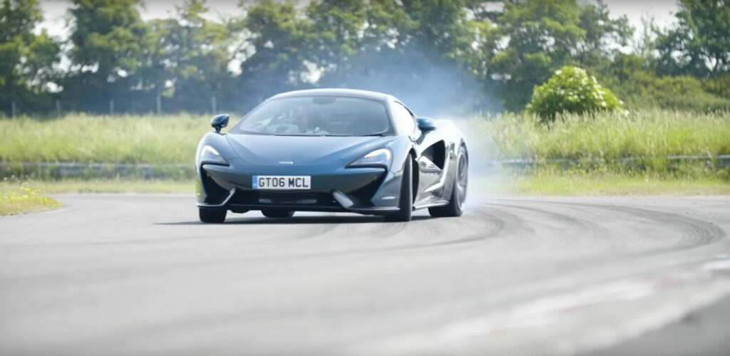 Chris Harris Drives McLaren 570T