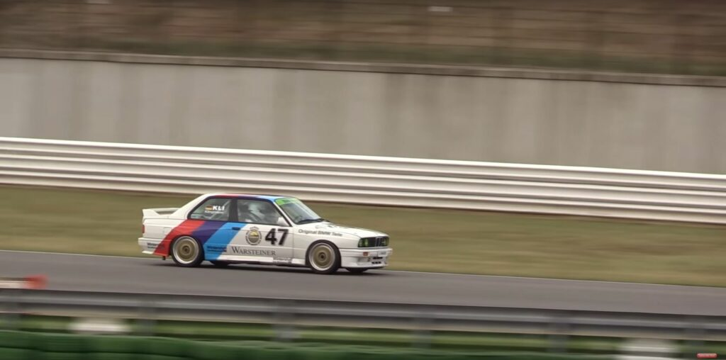 1990 BMW E30 M3 DTM at Misano