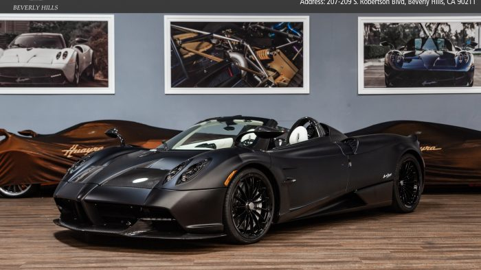 2018 Pagani Huayra Roadster for sale