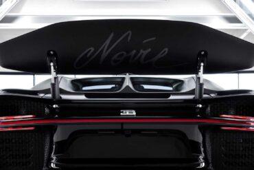 2020 Bugatti Chiron Noire Sportive Wallpapers