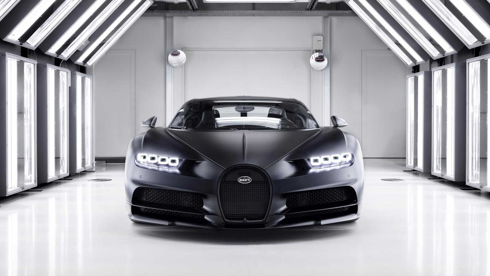2020 Bugatti Chiron Noire Sportive Wallpapers