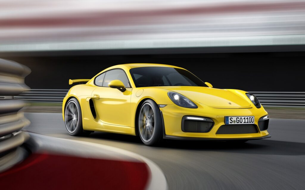 2015 Porsche Cayman GT4 Wallpapers