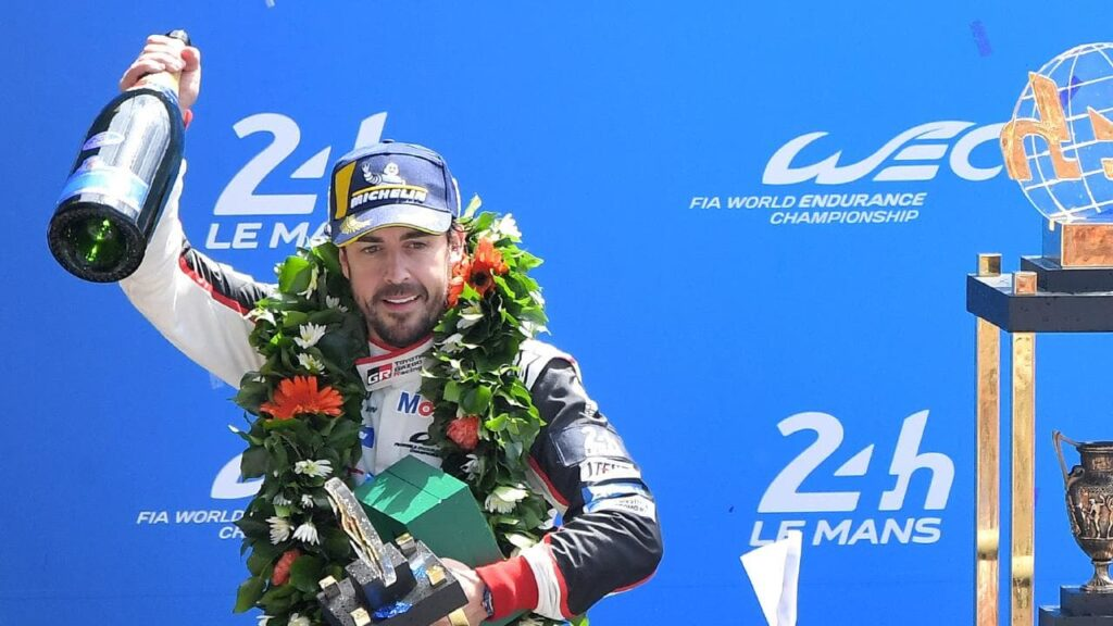 Alonso 24 hours of lemans