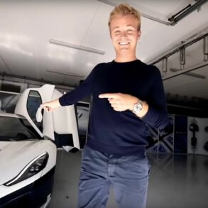 Nico Rosberg and the Rimac C_Two