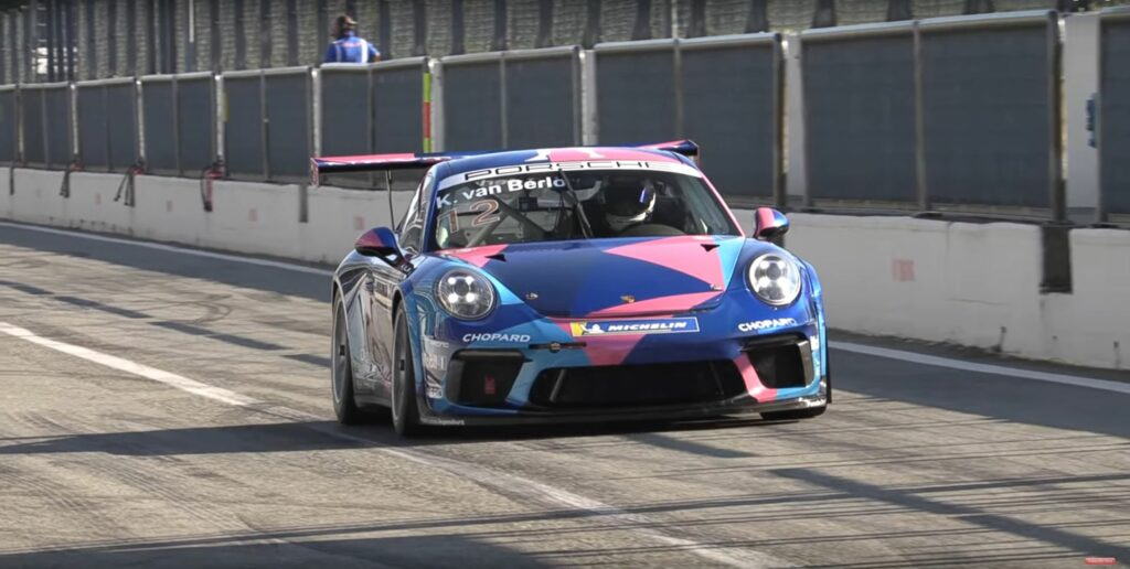 Kateyama test days 2020 Porsche Type 991.2 911 GT3 Cup