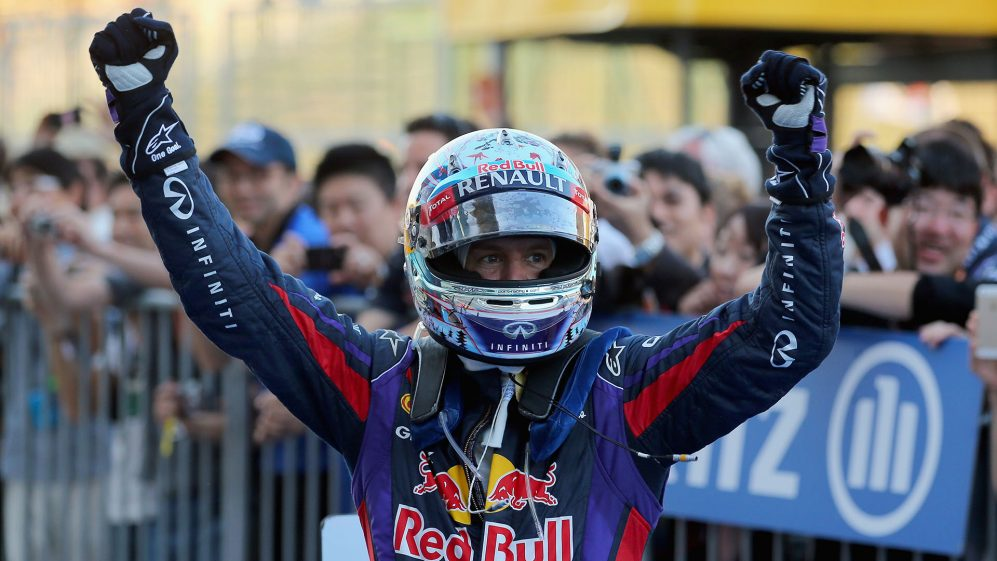 Vettel with Red Bull Racing