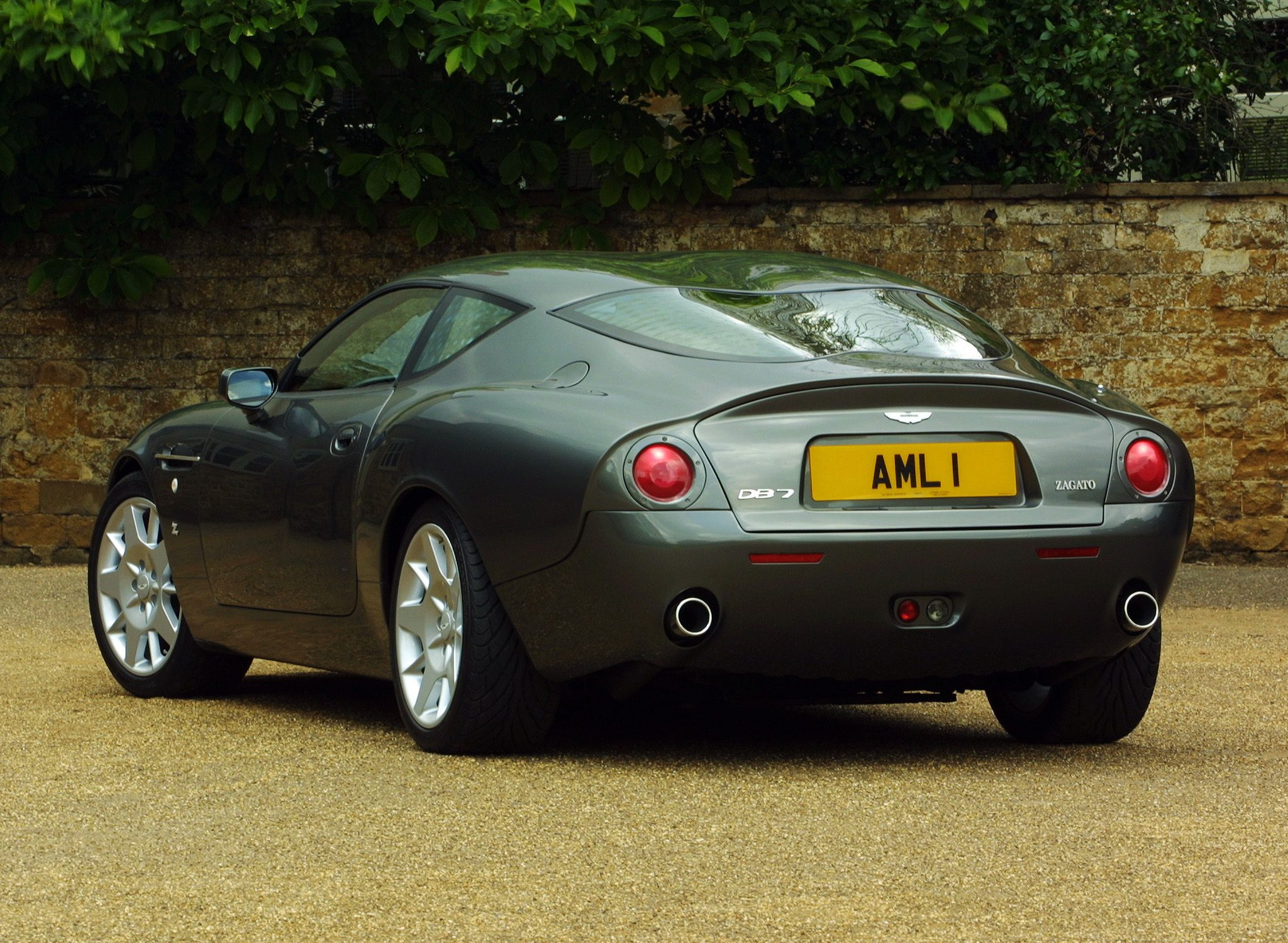 2002 Aston Martin Db7 Zagato Wallpapers Viruscars