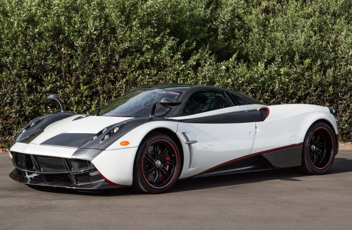 2012 Pagani Huayra White Edition