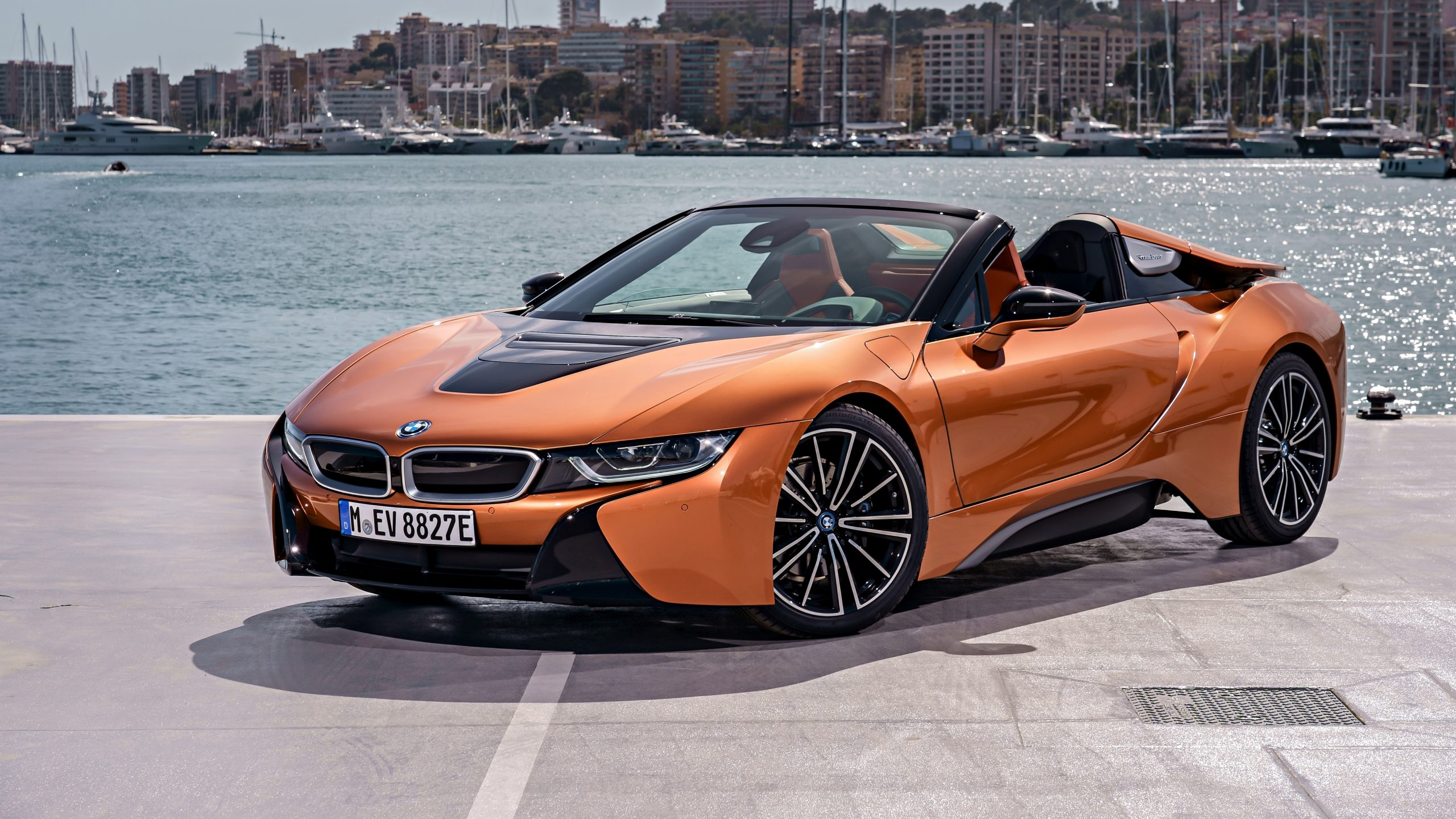 2018 Bmw I8 Roadster Wallpapers Supercars Net