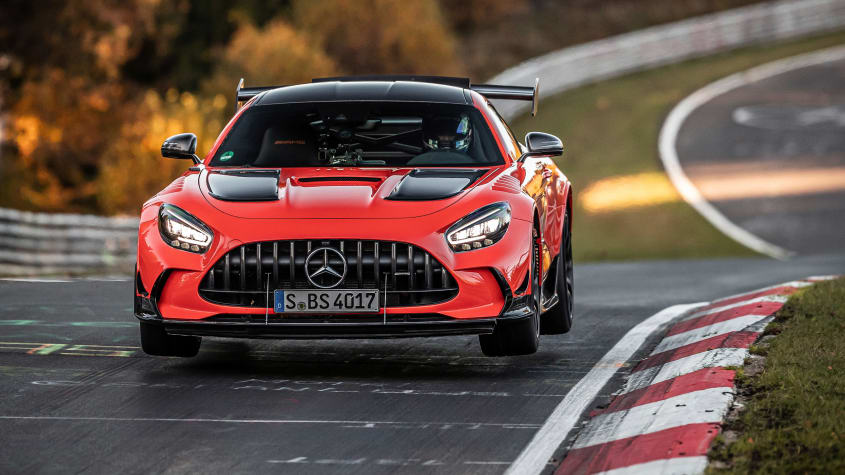 Mercedes-AMG GT Black Series at Nurburgring