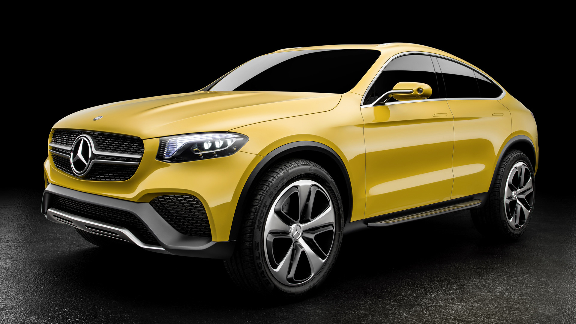 2015 Mercedes Benz Glc Coupe Concept Wallpapers Supercars Net