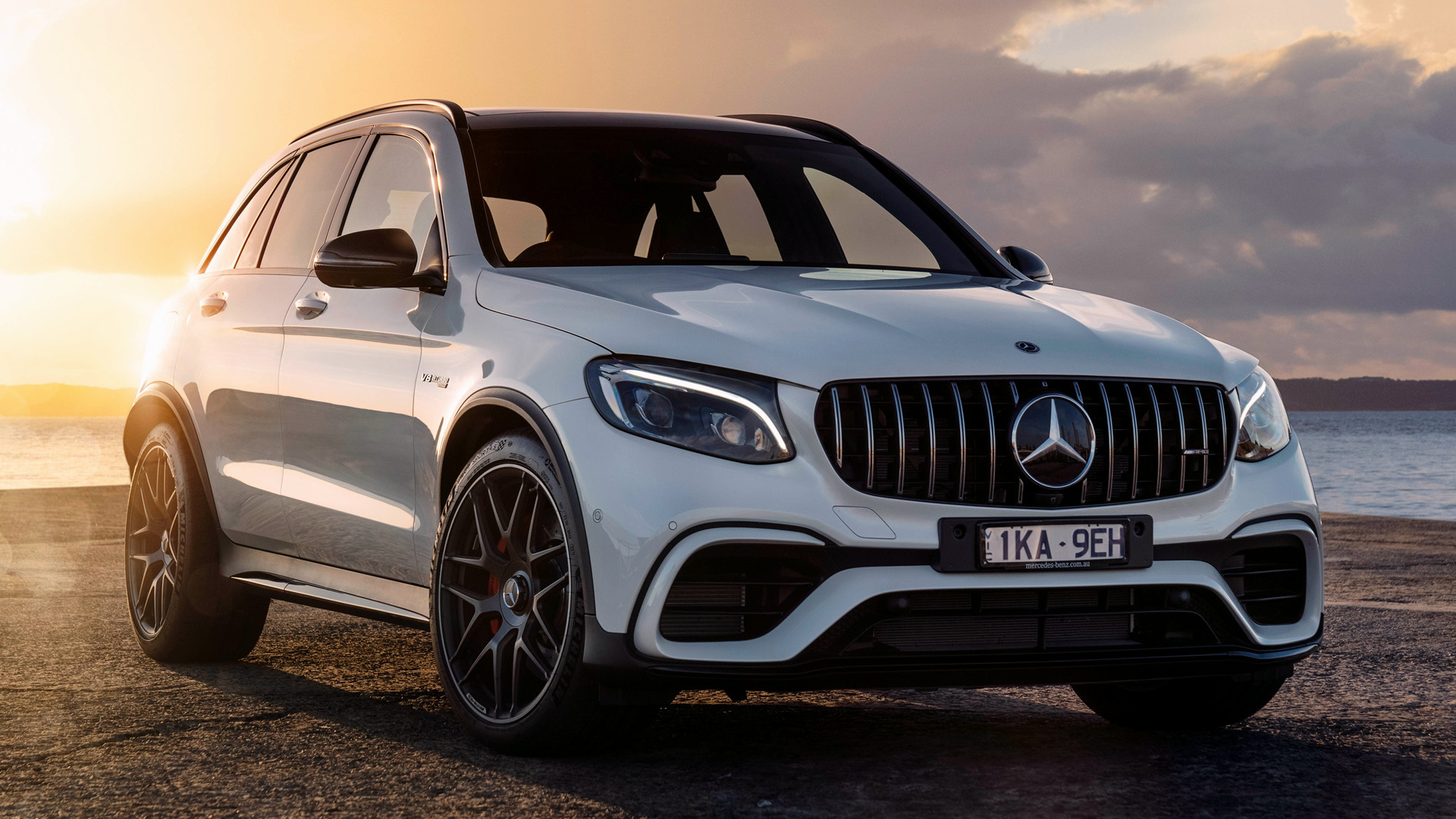 2018 Mercedes Benz Glc 63 S Amg Wallpapers Supercars Net