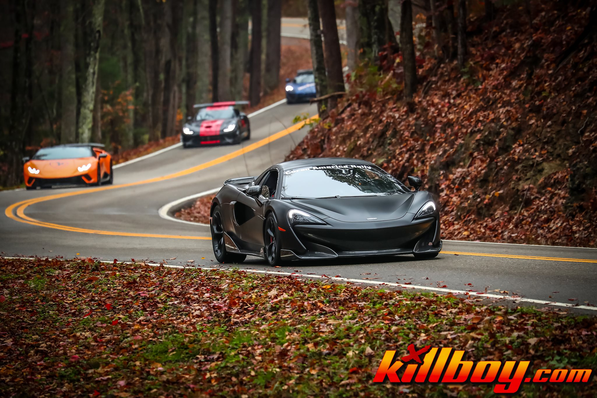Mclaren on Tail of the Dragon