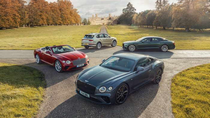The Bentley lineup for 2021
