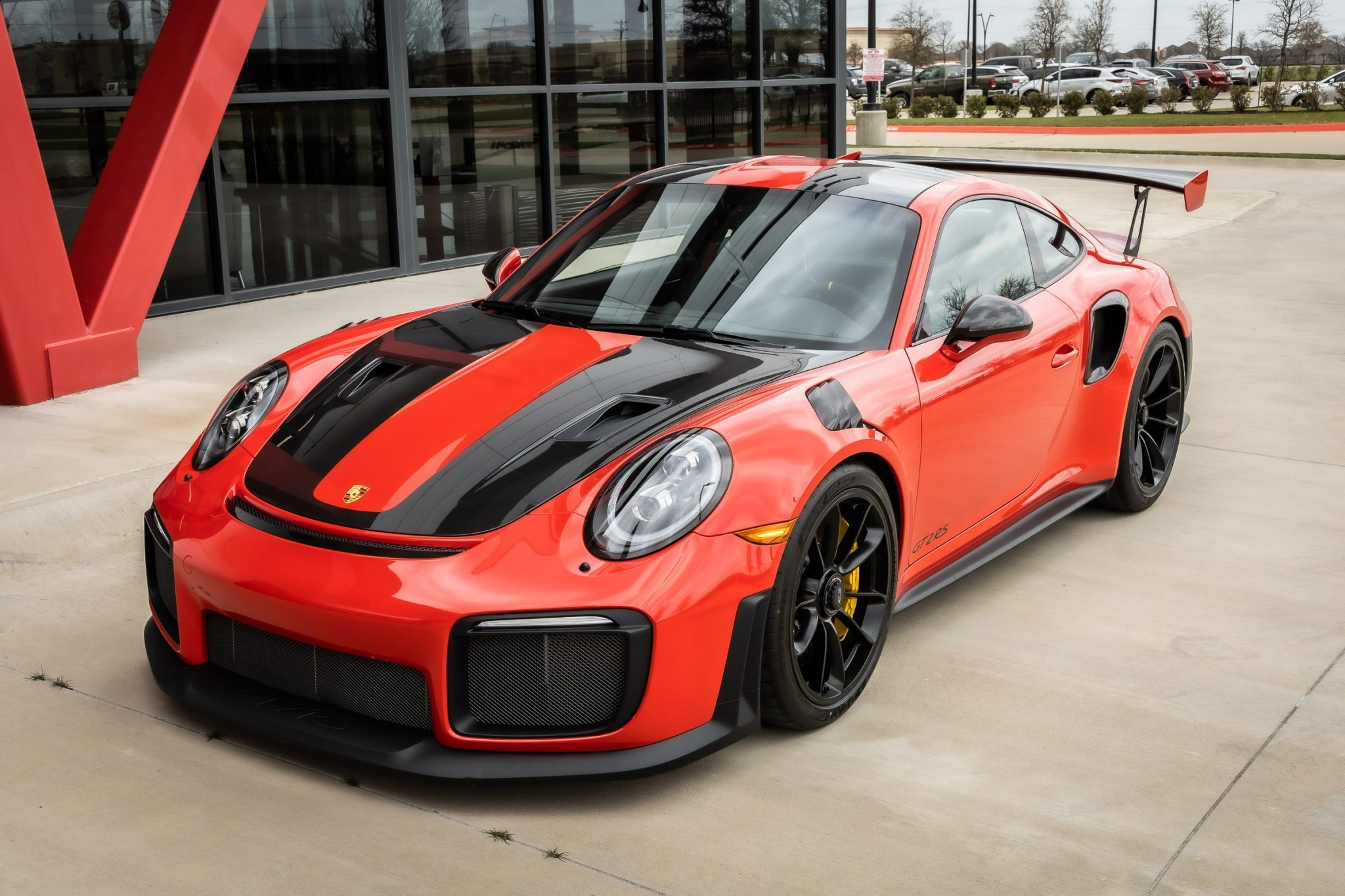 2018 GT2 RS Weissach Front Angle