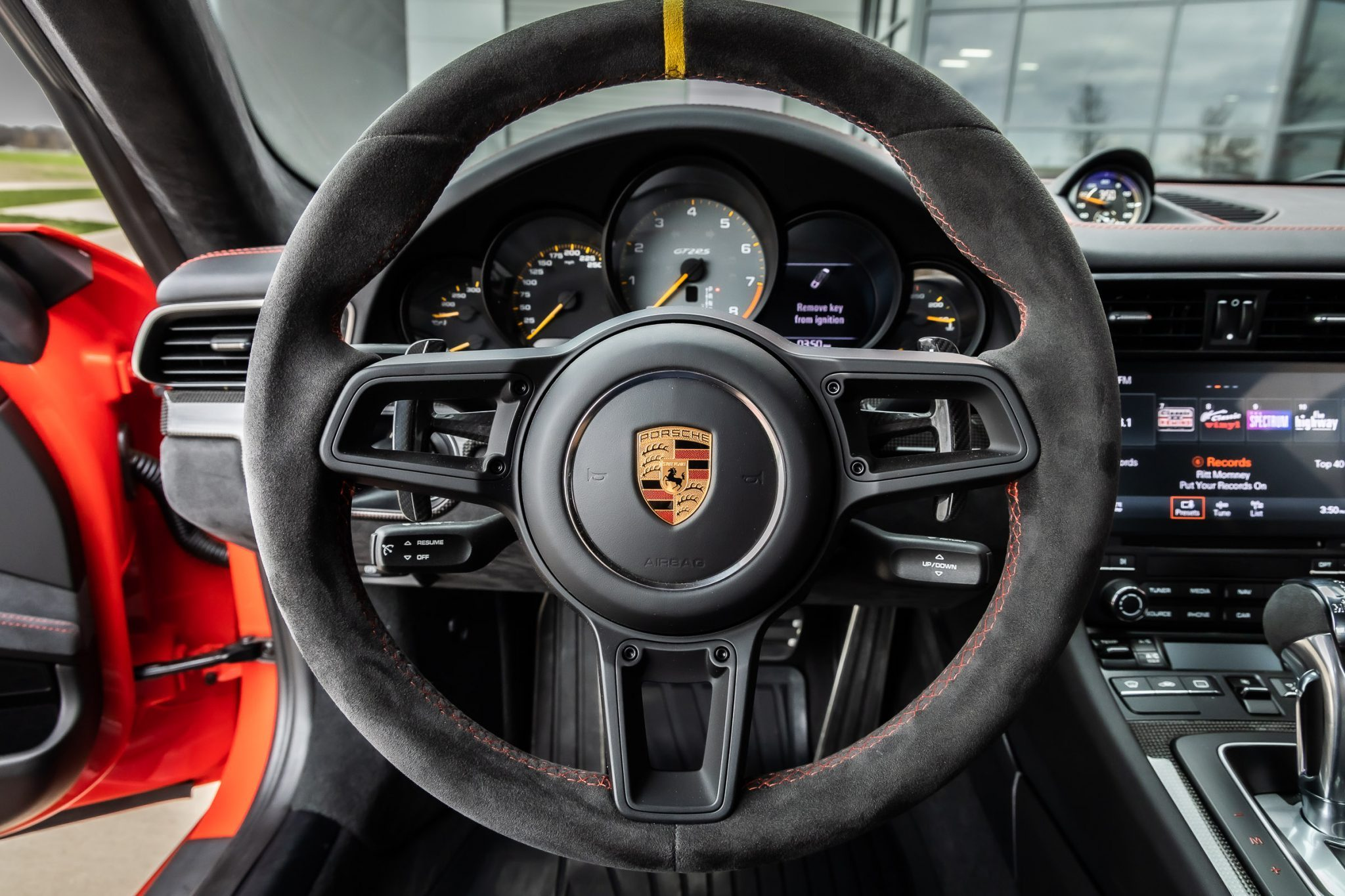 2018 GT2 RS Weissach Cockpit