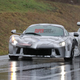 Ferrari Spy shot LaFerrari Test Mule