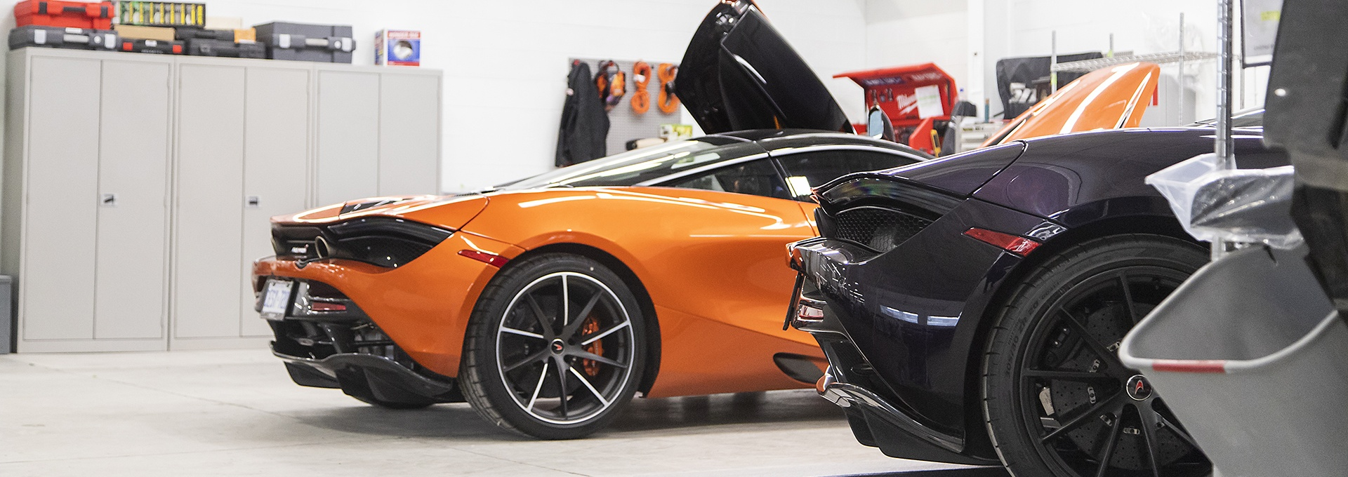 Exotic cars at Pfaff Autoworks