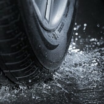 How Much Does Rain Reduce Your Traction?