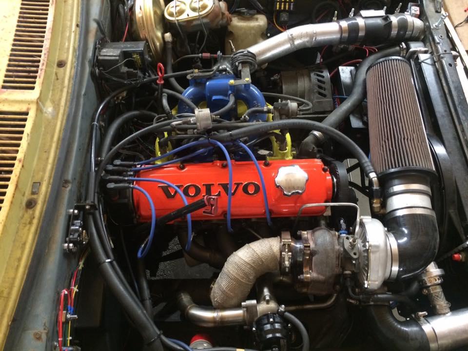 Volve 2.3L B230FT engine