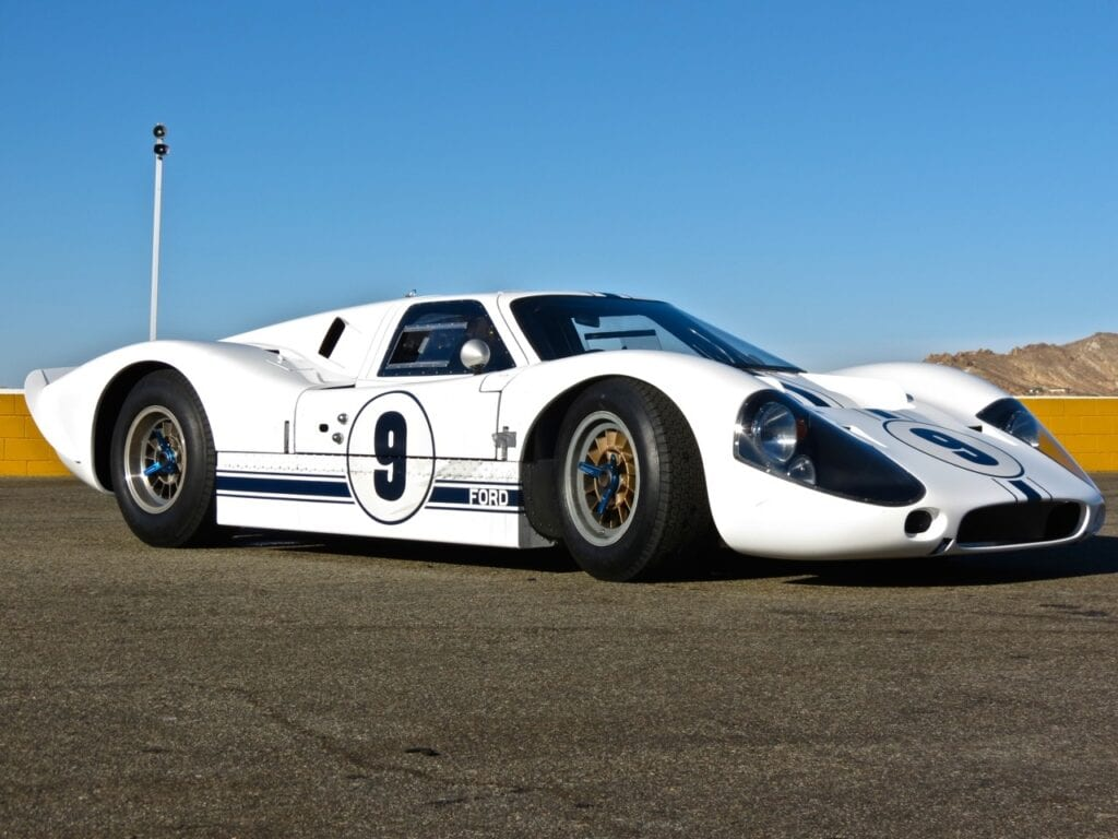 1967 Ford GT40 MkIV chassis G7A J-9