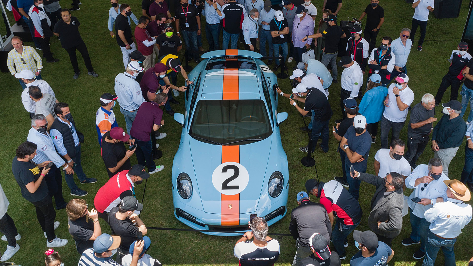 A one-of-a-kind Porsche 911 to honour Mexico's greatest racer