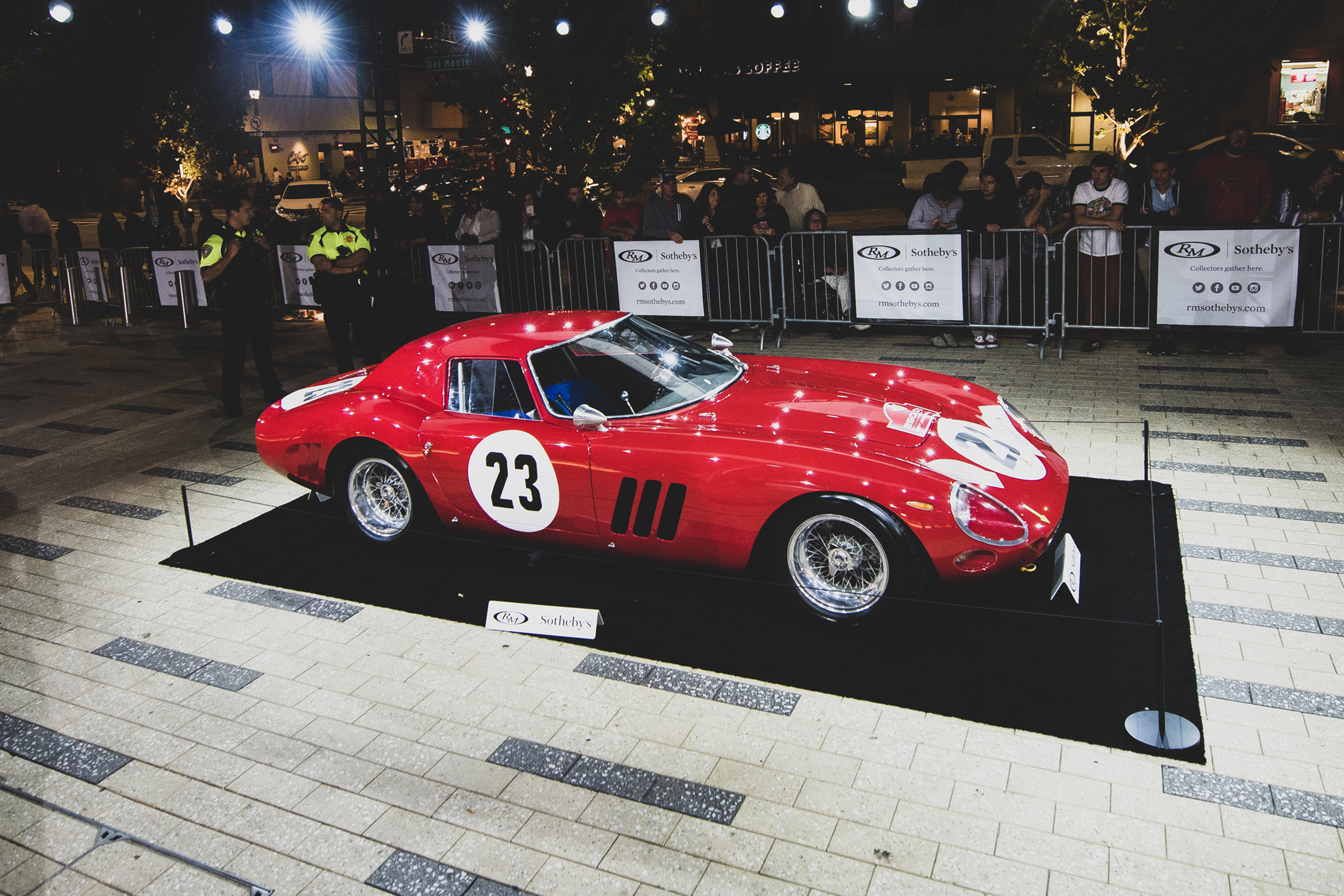 1964 Ferrari 250 GTO Series II LM at RM Sotheby's auction in London