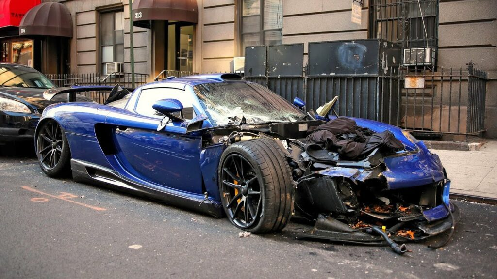 Gemballa Mirage GT Wrecked in NYC