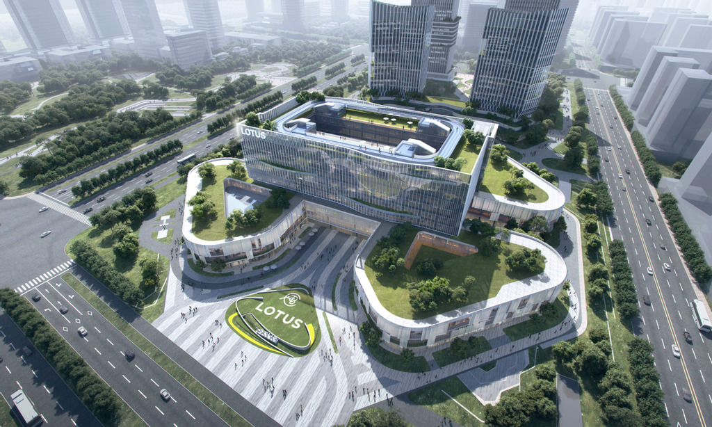 Lotus Cars' new Technology Center HQ