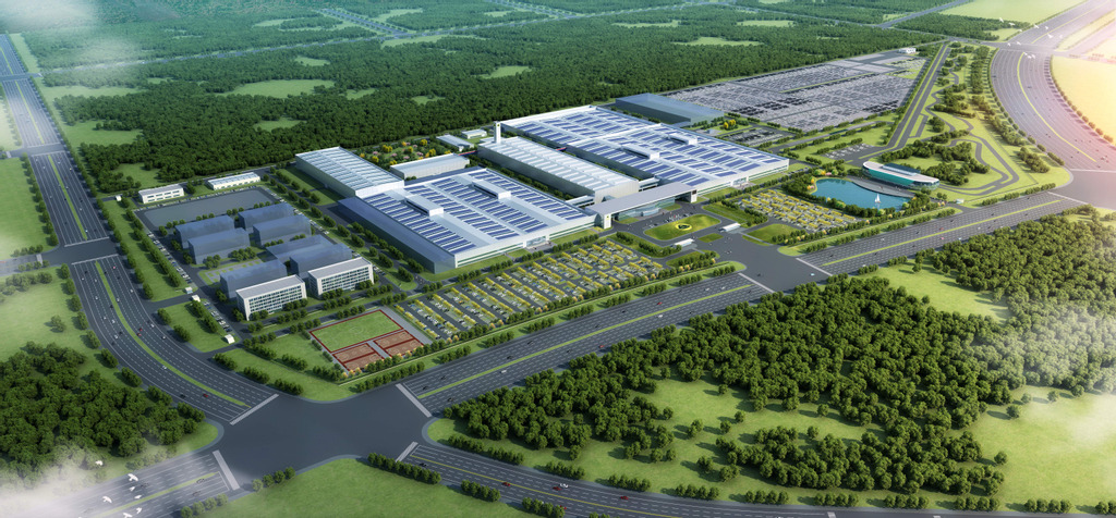Lotus Cars' technology manufacturing facility