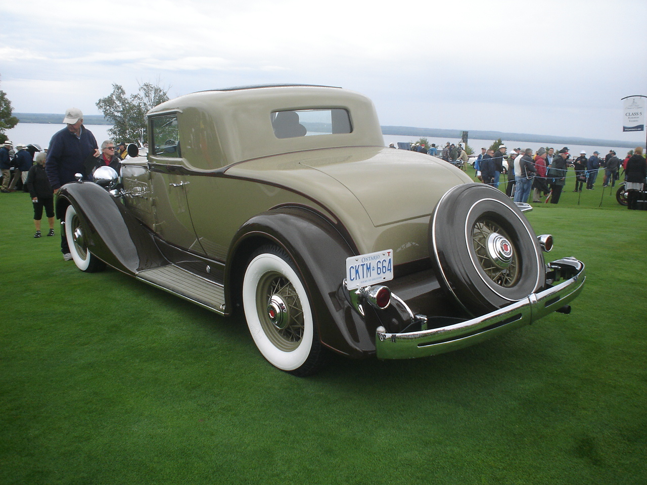 1934 Packard Eleventh Series Model 1101 Type 718 Eight 2-4 Passenger Rumble Seat Coupe -3.JPG